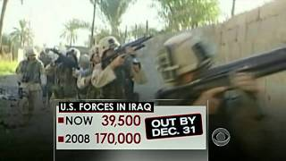The CBS Evening News with Scott Pelley - Obama ends war in Iraq