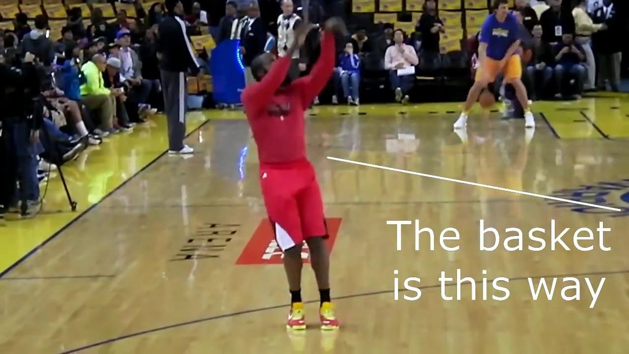 James Harden Shooting Form Breakdown - YouTube