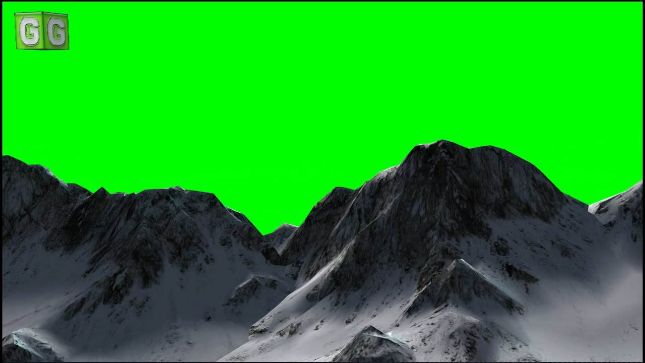 3d Mountain Wallpaper Flying Over Mountains Green Screen B Youtube