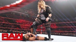 Ember Moon vs. Nia Jax: Raw, Nov. 5, 2018