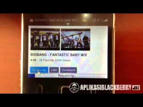 Cara Download Video Dari Youtube Dengan Blackberry - YouTube