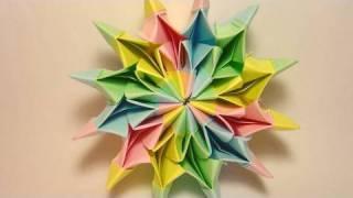 Repeat youtube video Origami Fireworks (Yami Yamauchi)