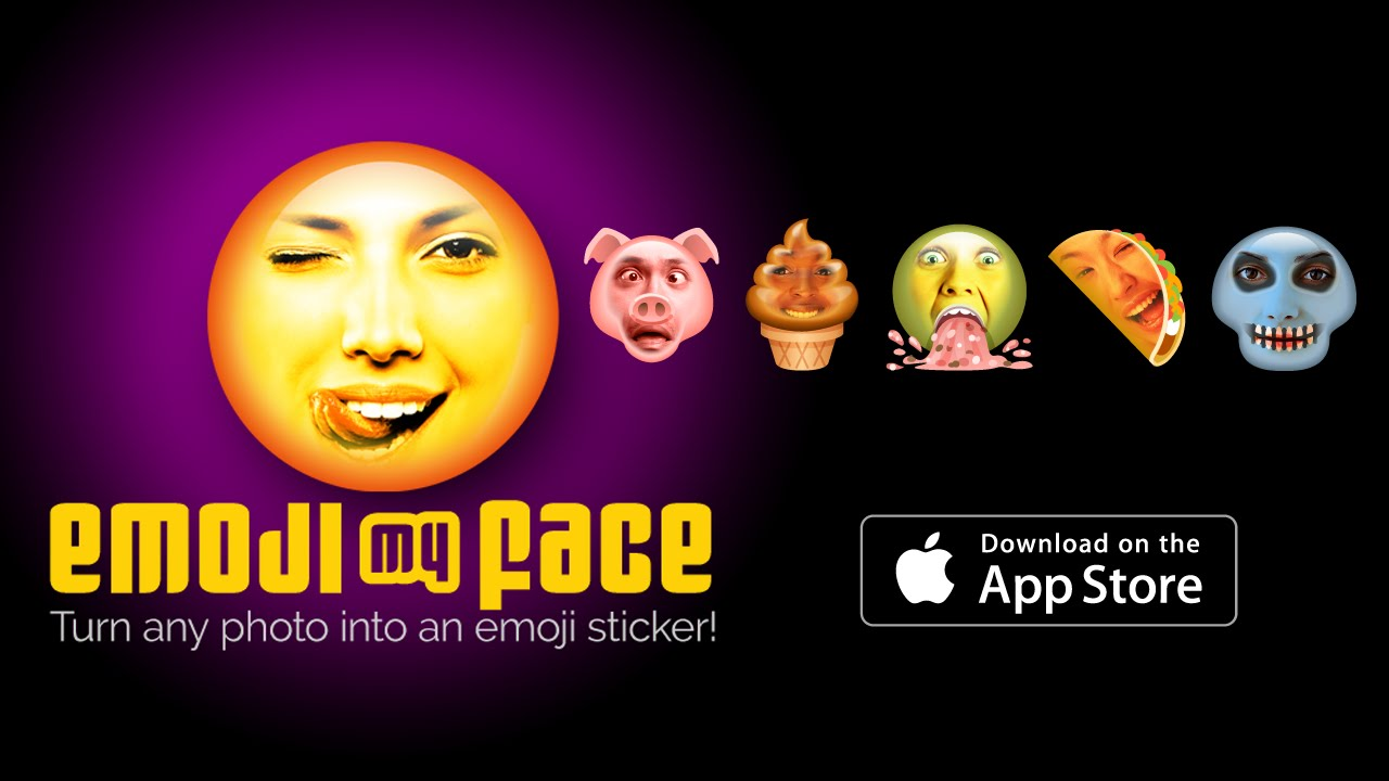 This App will TOTALLY MELD YOUR FACE: Emoji My Face app, v2 0