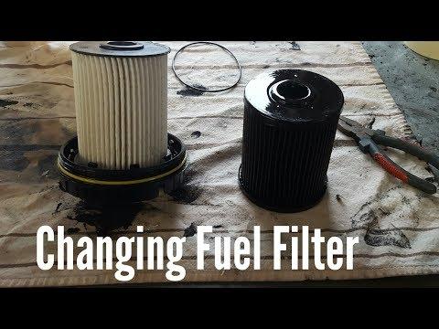 how to change fuel filter on 03 07 dodge ram cummins youtube2005 Dodge Ram 2500 Fuel Filter #19