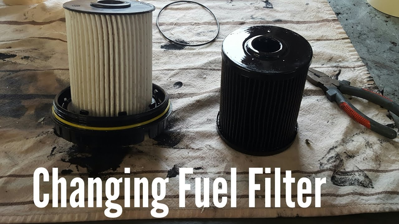 hight resolution of how to change fuel filter on 03 07 dodge ram cummins