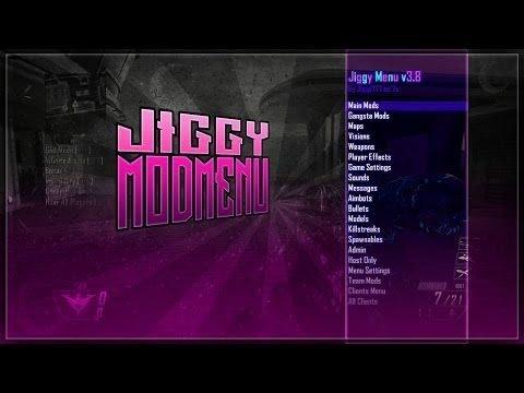 [CoD 9 Wii U] Jiggy v4.3 Mod Menu