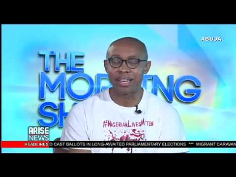 Human Rights Lawyer Chidi Odinkalu speaks on the human rights crises in Nigeria