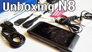 nokia N8 Unboxing 4K with all original accessories Nseries RM-596 review N8-00