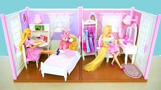 Bedroom & Dressing room for Barbie dolls & Princess dolls Kamar Tidur & Ruang Rias Barbie Camarim