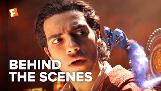 Aladdin Exclusive Behind the Scenes - New Flavors of Genie (2019) | FandangoNOW Extras