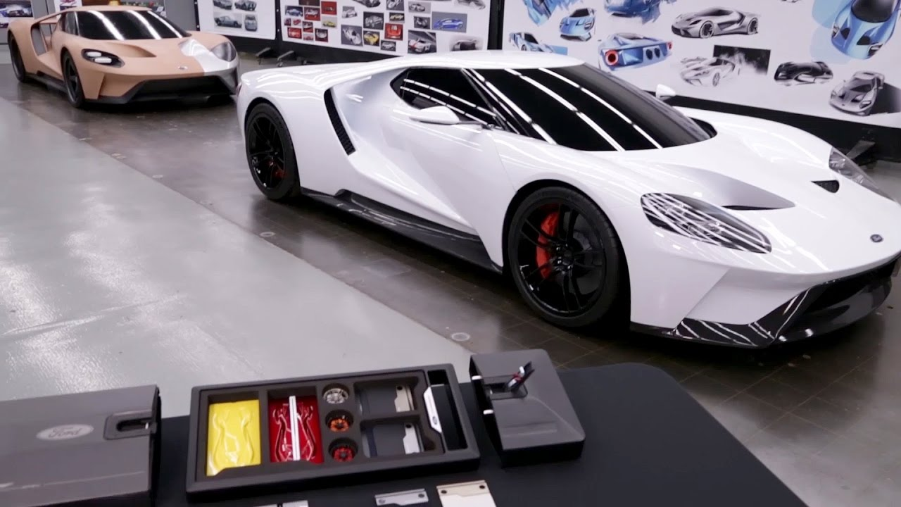 Official  Ford Gt Order Kit