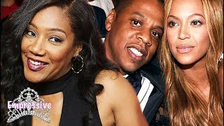 Comedian Tiffany Haddish talked about meeting Jay-Z and Beyonce for...