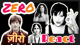 ZERO | SRK | Shahrukh Khan | Katrina Kaif | Anushka Sharma | Trailer Reaction | Zero Official Teaser