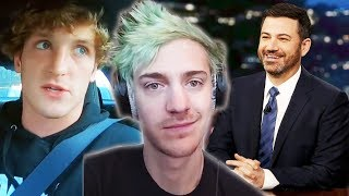 Ninja Gets ROASTED on Live TV... Logan Paul Not Allowed in the UFC!