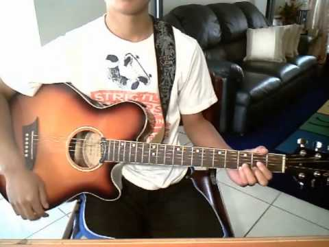 When You\'re Gone by Avril Lavigne (guitar cover) with CHORDS + ...