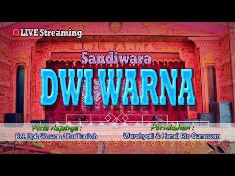 """Live Streaming Sandiwara """" DWI WARNA """"   Selasa, 17 Juli 2018   Kertajaya Blok Kibuyut - Bongas"""