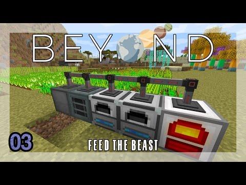 FTB Beyond 1.10.2 || Automated Wheat-Powered RF Generation || Ep 03