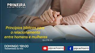 Princípios bíblicos para o relacionamento entre homens e mulheres
