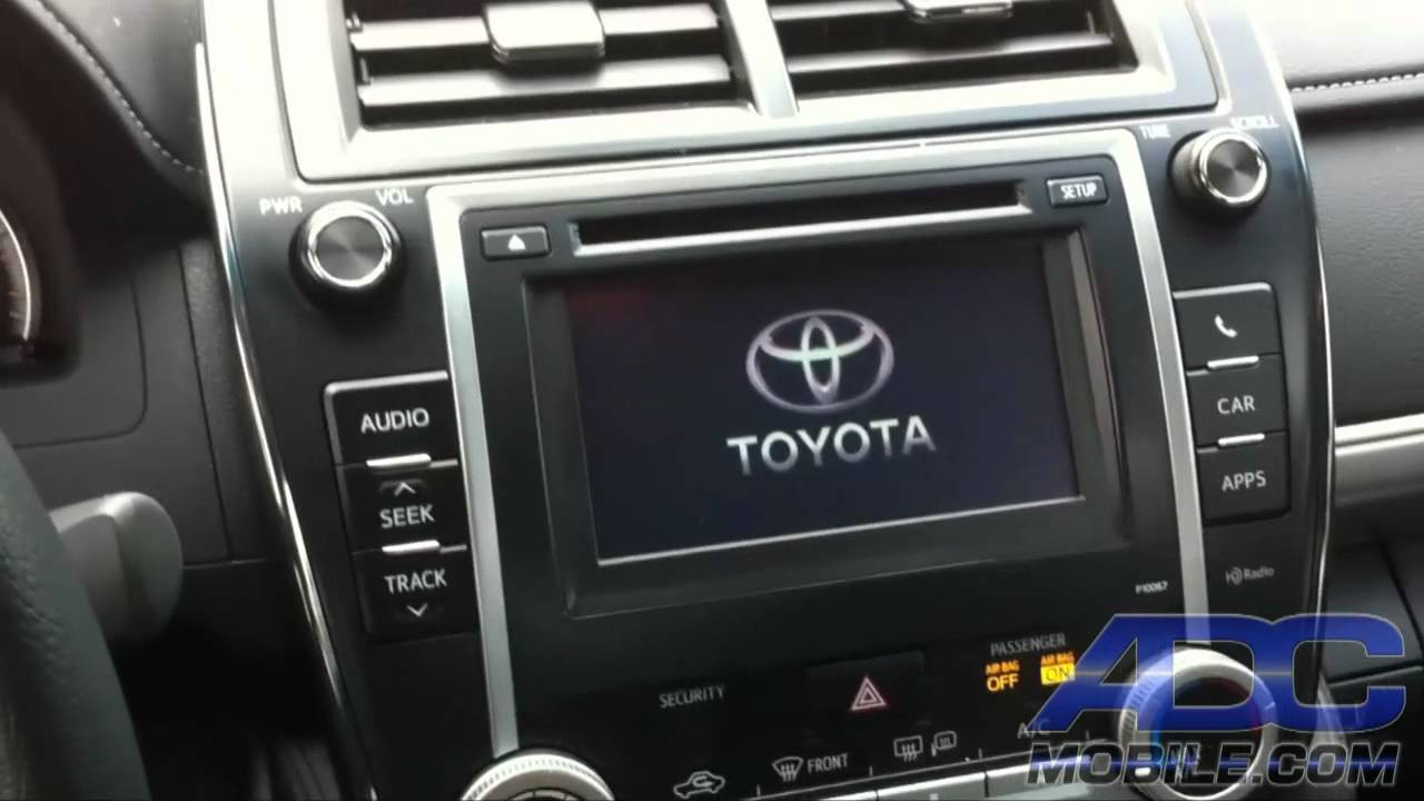 2012 Toyota Camry Factory Style Backup Camera For Display