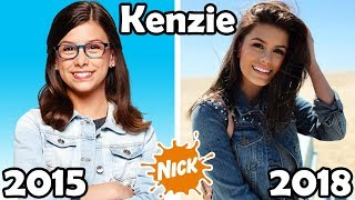 nickelodeon famous girls stars before and after 2018 then and now
