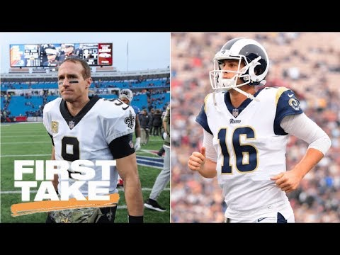 Saints or Rams: Which is bigger threat to Eagles' NFC crown? | First Take | ESPN