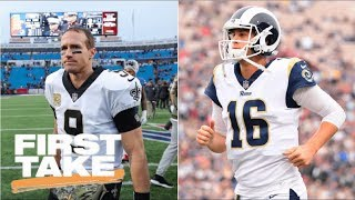 Saints or Rams: Which is bigger threat to Eagles