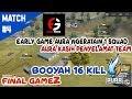 FRONTAL GAMING RUSHER TERBAIK | AURA NESC BOOYAH 16 KILL DI FINAL TURNAMEN GOLDEN TICKET