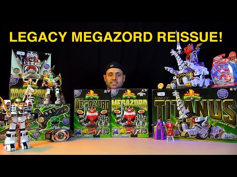 Legacy Megazord Reissue 2015! What's New? (Mighty Morphin Power Rangers)