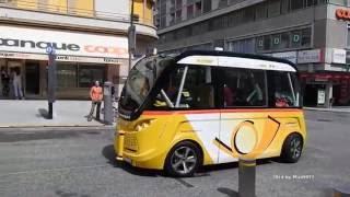 🚍  Autonomous Shuttle Premiere Sion 2016 - Bus autonome