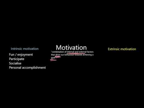 A glance at Intrinsic and Extrinsic Health Fitness Motivation