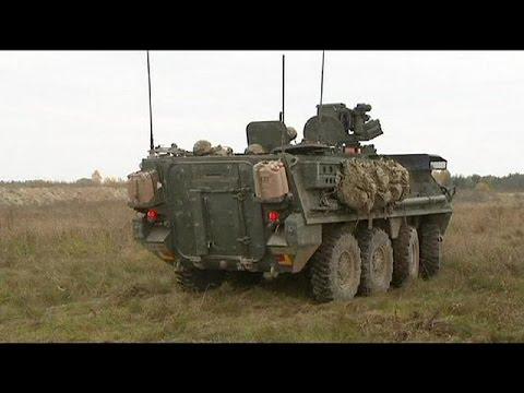 ABD Doğu Avrupa'da Askeri Varlığını Artırıyor