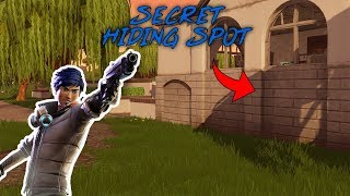 INSANE HIDING SPOT IN LAZY LINKS - FORTNITE BATTLE ROYALE