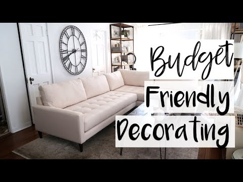 Interior Design How To Make Your Home Look Expensive On A Budget Youtube