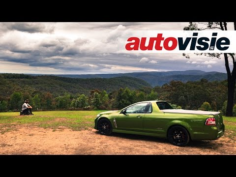 Holden Ute SS-V Redline Door Greater Blue Mountains Area - By Autovisie TV