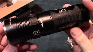 eagTac SX25L3 (XHP50) Flashlight Kit Review! (EagleTac)