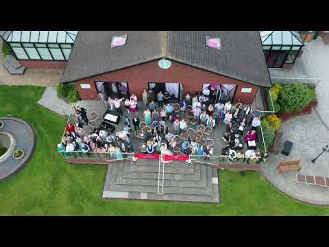 Victoria & Adams Wedding Day 22-06-2019 Calderfields Golf Club Drone Footage pt2