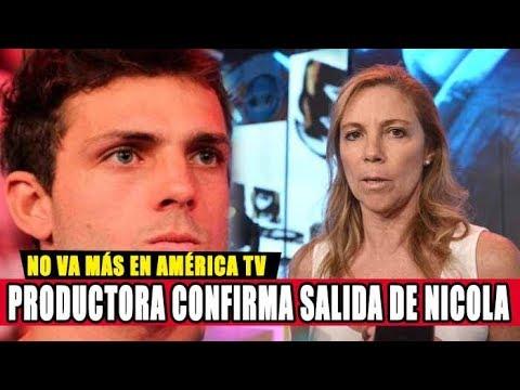 PRODUCTORA DE ESTO ES GUERRA CONFIRMA RENUNCIA DE NICOLA PORCELLA A AMÉRICA TELEVISIÓN
