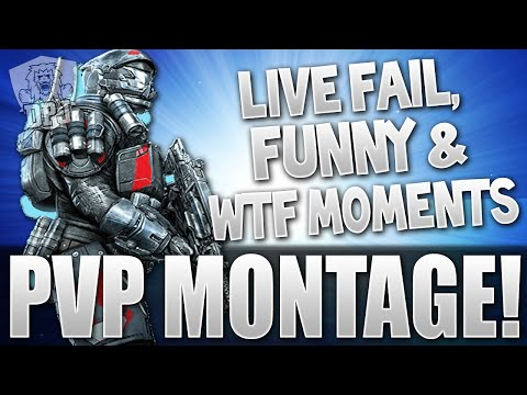 Destiny: RAGING, FUNNY, WTF, EPIC & FAIL Crucible Moments Montage
