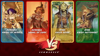Commander Vs S2E7: Akroma & Akroma vs Sygg & Sygg [MtG: Multiplayer] YouTube Videos