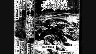 ATROFIA CEREBRAL - Matanza Extrema (1989) demo tape