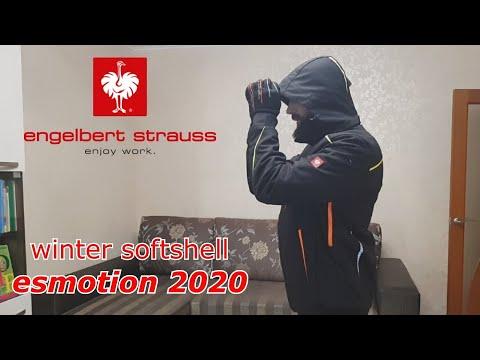 #9 Крутая рабочая одежда Engelbert Strauss !!!  Куртка ЗИМНЯЯ  !!!  Softshell (e.s.motion2020) !!!