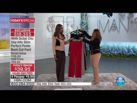 HSN | IMAN Global Chic Fashions 02.25.2017 - 04 PM