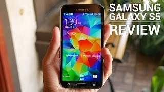 Samsung Galaxy S5 Review(Buy Galaxy S5: http://georiot.co/47vw - Josh reviews the Samsung Galaxy S5. Watch On! Review: http://goo.gl/1CIJnH Best Galaxy S5 cases: ..., 2014-04-07T12:00:04.000Z)