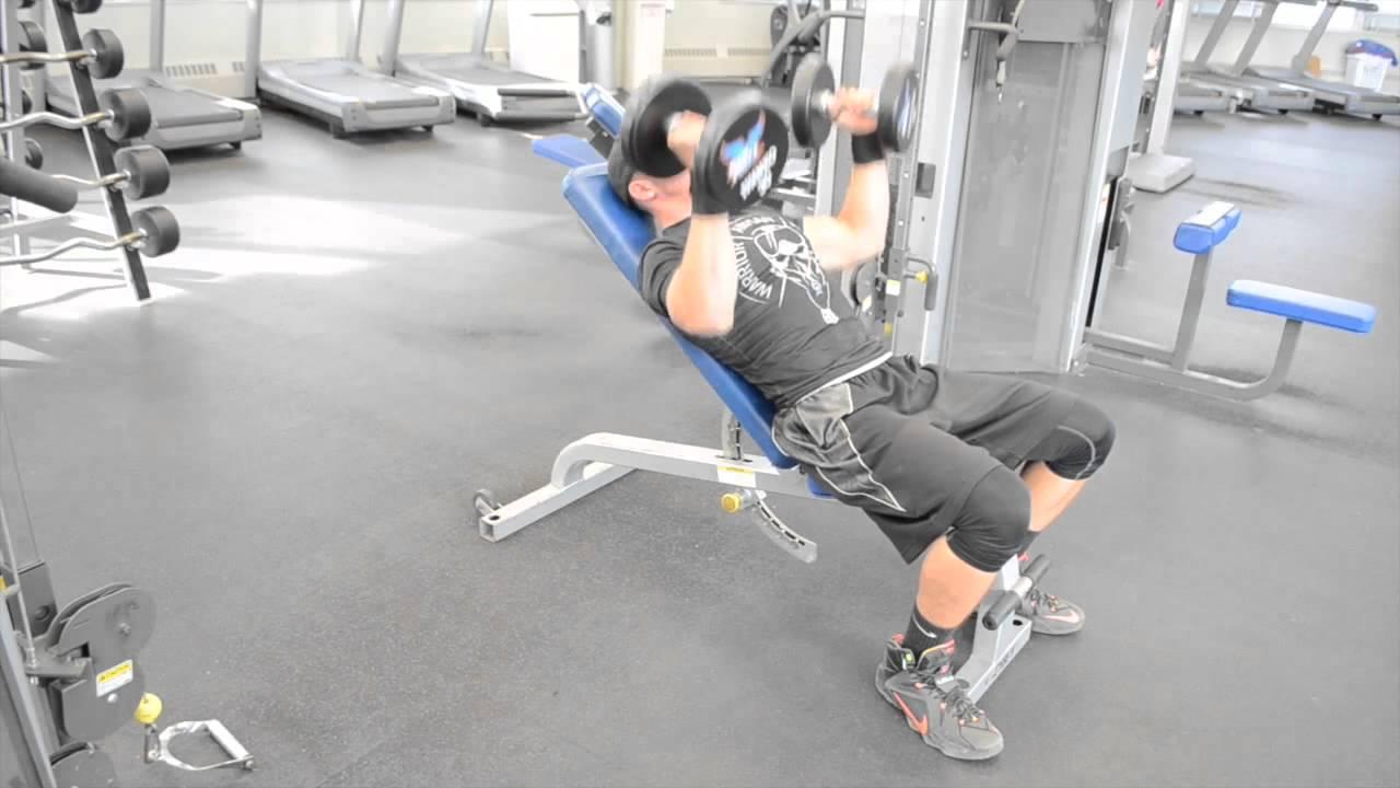 Hammer Grip Bench Press Part - 39: Tutorial Incline Bench Hammer Grip Dumbbell Press
