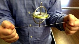 Repeat youtube video Gyroscope Tricks and Physics Stunts ~ Incredible Science