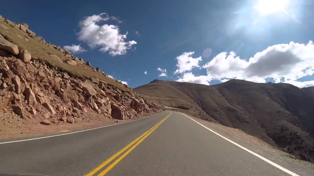 Drive Pikes Peak Highway In Two Minutes