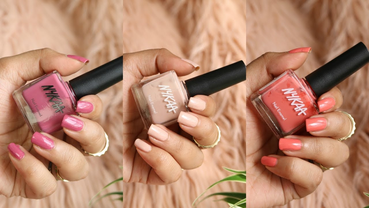 My Top 10 Nail Polishes By Nykaa