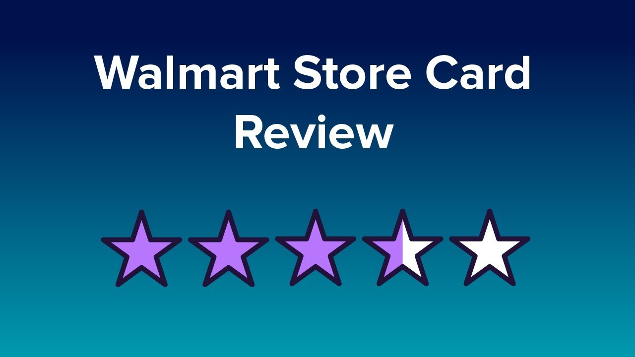 Apply Walmart Credit Card Instant Approval >> Walmart Card Reviews
