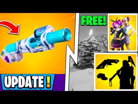 *NEW* Fortnite 11.21 Update! | Free Bundle & Skin, Shield RPG, Christmas!
