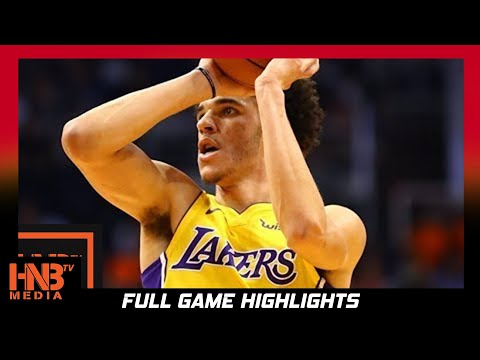 Los Angeles Lakers vs Detroit Pistons Full Game Highlights / Week 2 / 2017 NBA Season